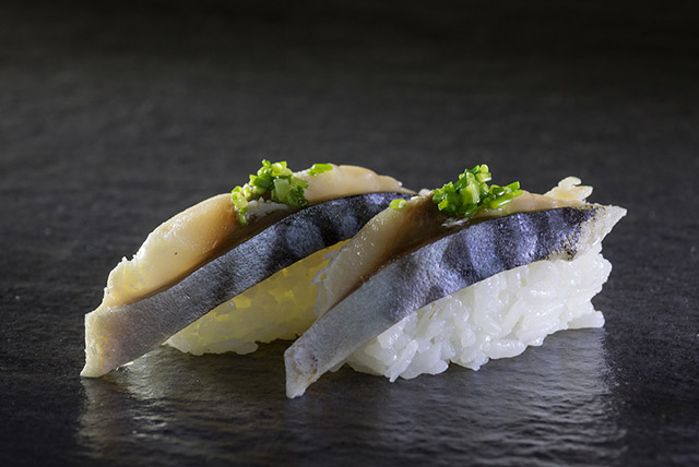 Marinated Mackerel Slice (Shime Saba)