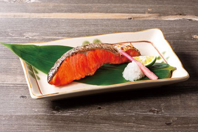 Salted Sockeye Salmon Fillet